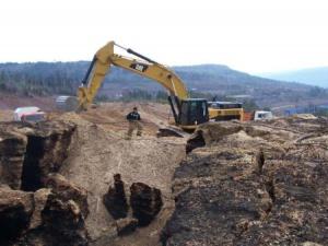 Завершилось тушение подземного пожара на проблемном полигоне в Усть-Куте