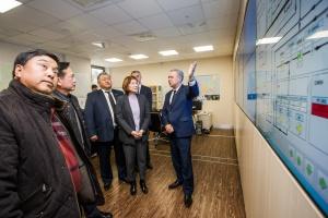 Корейская делегация посетила Иркутскую нефтяную компанию
