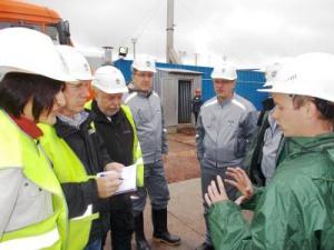 Представители ЕБРР посетили смониторинговым визитом объекты ИНК
