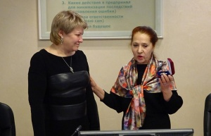 """Марина Седых награждена орденом """"За дела милосердия"""""""