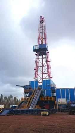 На Ярактинском НГКМ начата эксплуатация буровой установки нового поколения