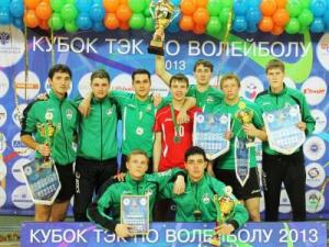 Волейбольная команда ИНК стала серебряным призером «Кубка ТЭК»