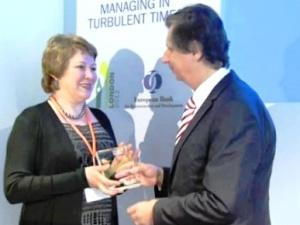 ИНК удостоена премии ЕБРР задостижения вобласти устойчивого развития