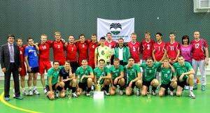 Волейбольная команда ИНК победила втурнире кодню нефтяника