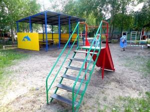 ИНК подарила игровые площадки трем детским садам Якутии