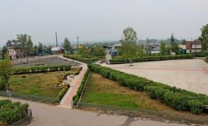 Городской парк Киренска отремонтирован на средства ИНК