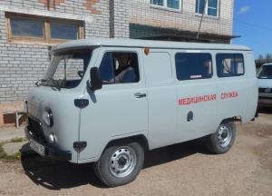 ИНК приобрела новый санитарный автомобиль для больницы Верхнемарково