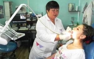 ИНК профинансировала переоборудование зубоврачебного кабинета в Катангском районе