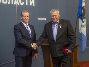 Сотрудник ИНК Анатолий Сафонов удостоен госнаграды