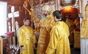 Епископ Братский иУсть-Илимский освятил храм наЯракте